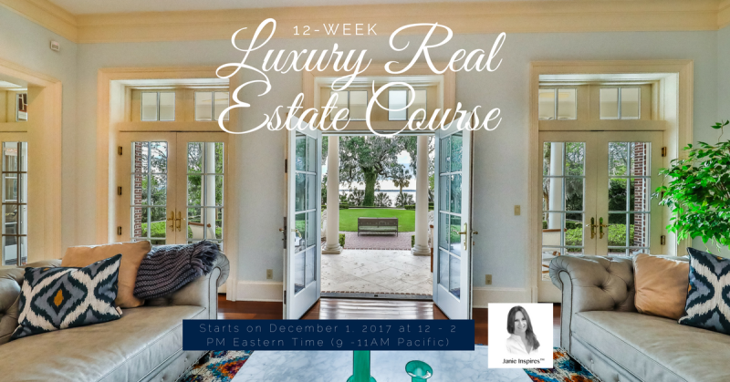 Luxury Real Estate Course