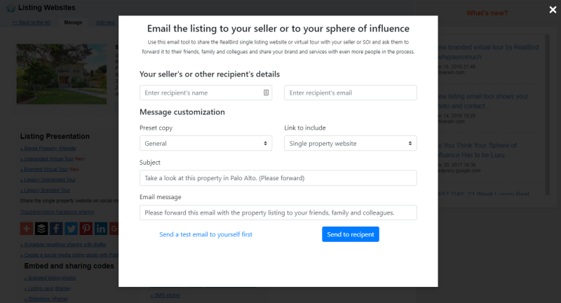 Seller Emailing Tool