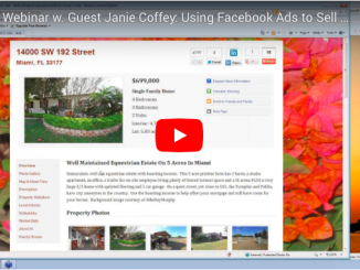 Using Facebook Ads to Sell $1.7M FSBO Listing – With Guest Speaker Janie Coffey