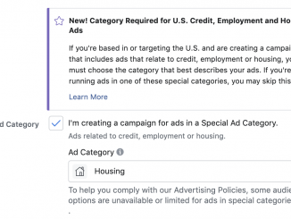 Facebook Ad Restirctions For Housing Ads